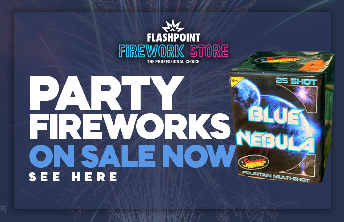 Buy fireworks for parties and celebrations
