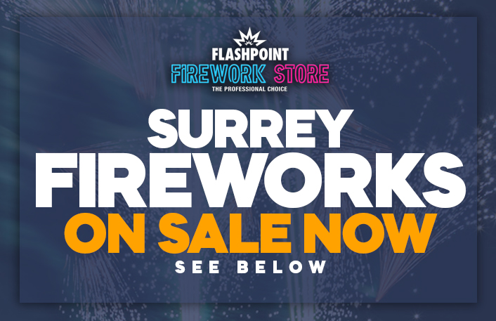 Buy fireworks in Surrey